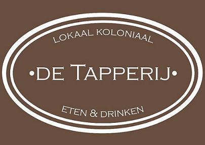 Lokaal koloniaal de Tapperij-logo-WITopTAUPE