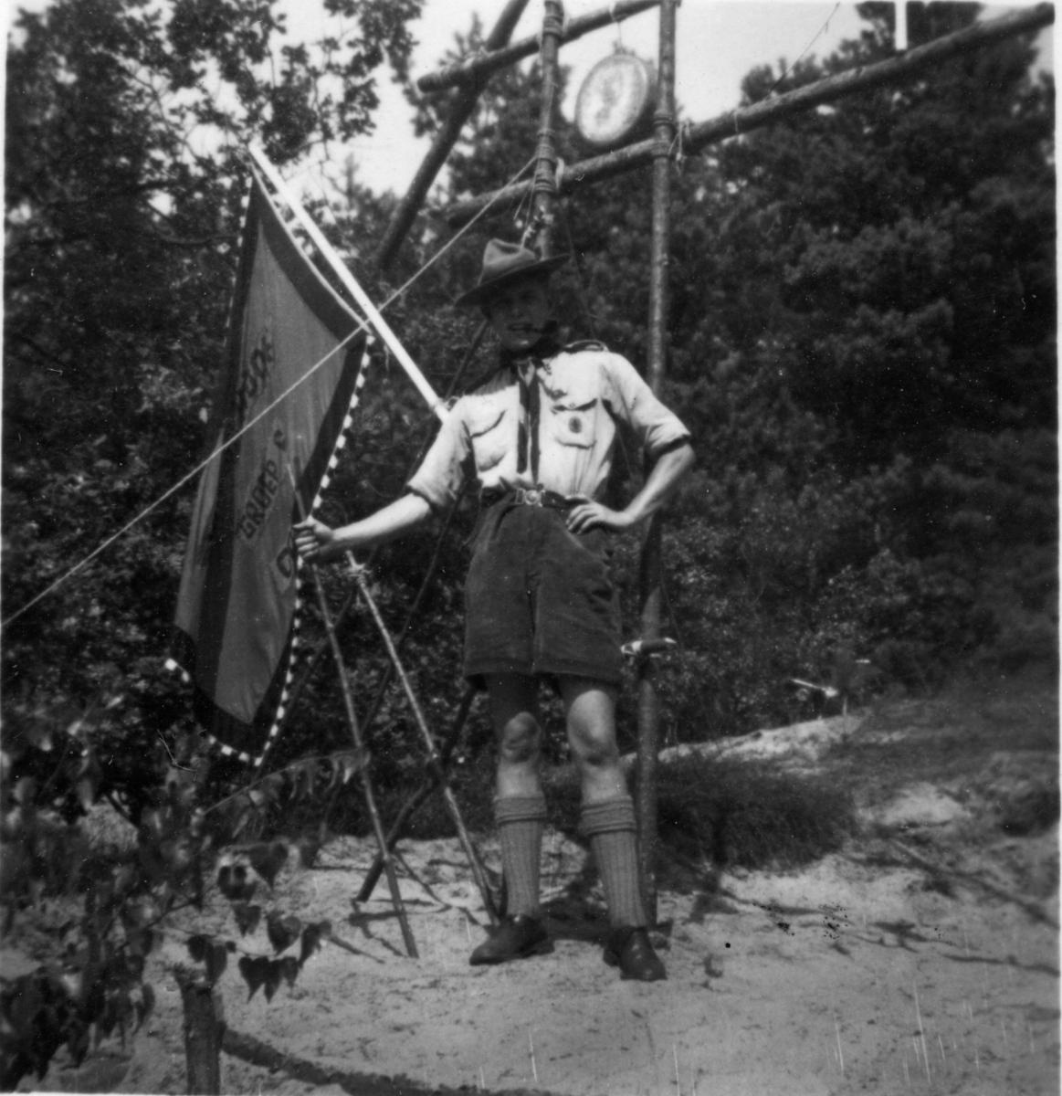 1950_NationaalKamp Vaandrig Lingmont