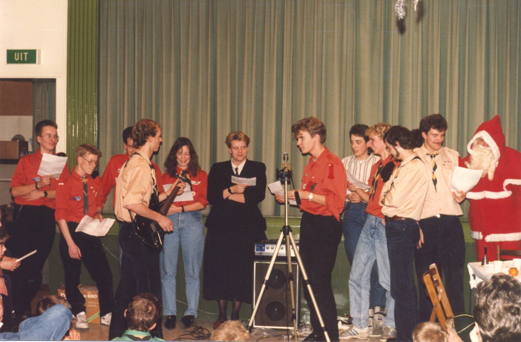 1989 Kerstfeest StamArendsoog