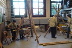 Installatie Julian + Pionieren